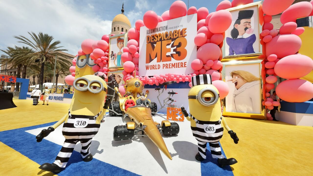 Event Planning Los Angeles Despicable Me 3 Movie Premiere Special Experiential Events JG2Collective