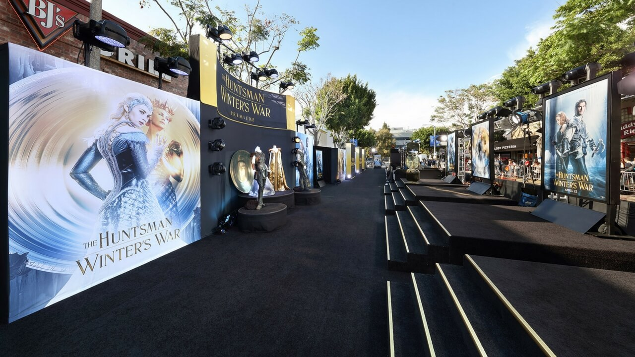 Event Production Westwood Los Angeles Movie Premiere Event Planning Experiential Special Events Huntsman Winters War Live Production JG2COLLECTIVE