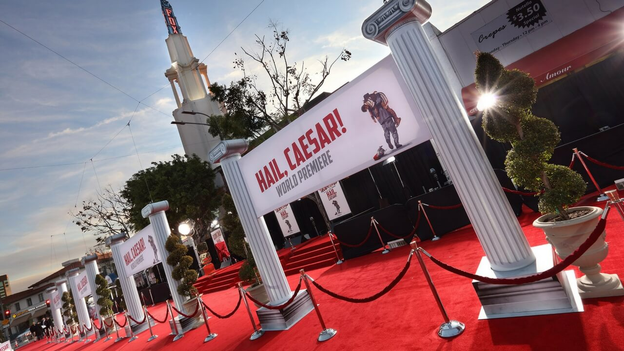 Premiere Events Los Angeles Red Carpet Event Production Hollywood Experiential Special Events Hail Caesar JG2COLLECTIVE
