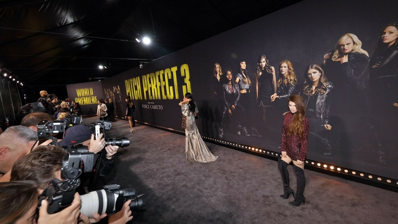 Movie Premiere Los Angeles Red Carpet Arrivals Pitch Perfect 3 Event Activation Planning Production JG2COLLECTIVE