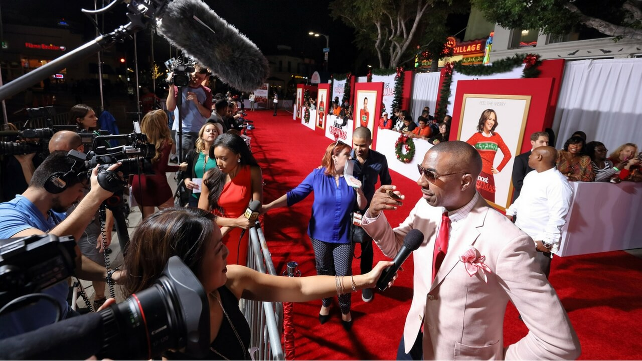 Red Carpet Events Hollywood Event Planning Production Experiential Special Events - Almost Christmas Live Production JG2COLLECTIVE