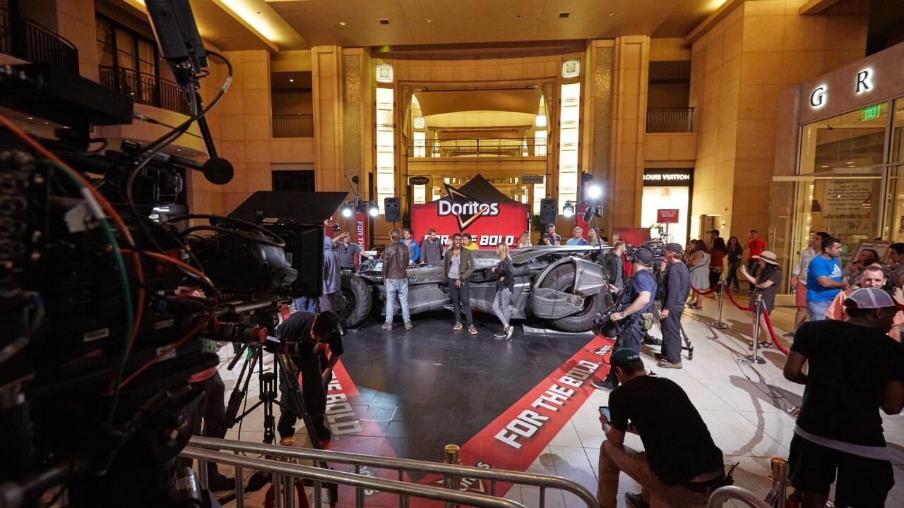 Corporate Events Los Angeles Doritos Batmobile Activation JG2 Collective