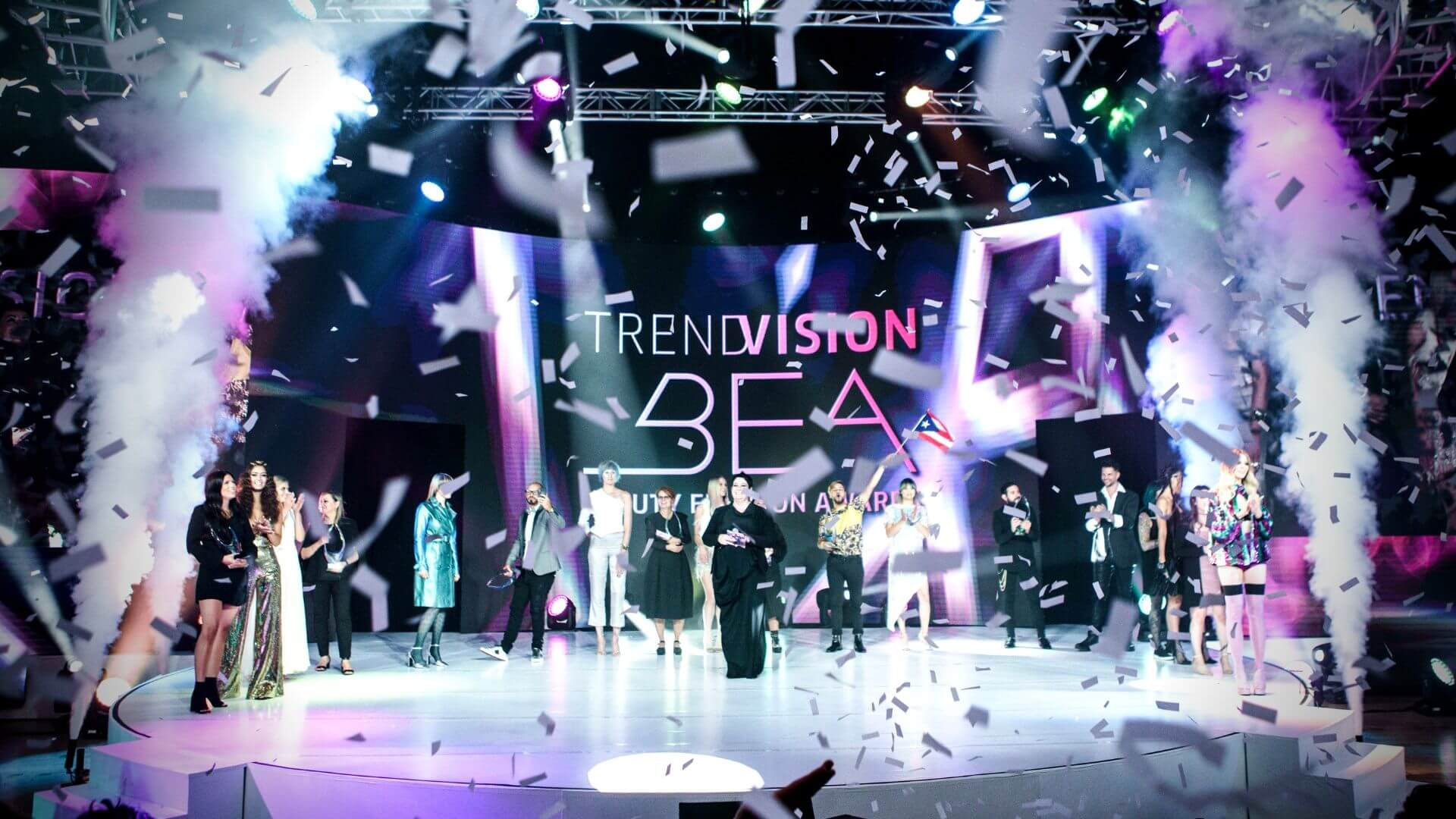 Event Production Los Angeles Beauty Envision Awards JG2 Collective