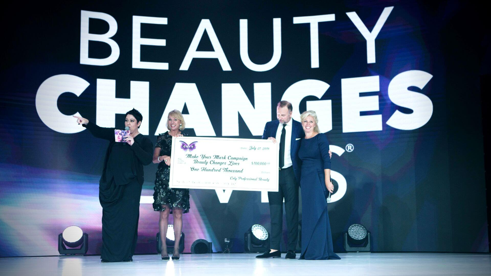 Beauty Changes Lives Beauty Envision Awards JG2 Collective
