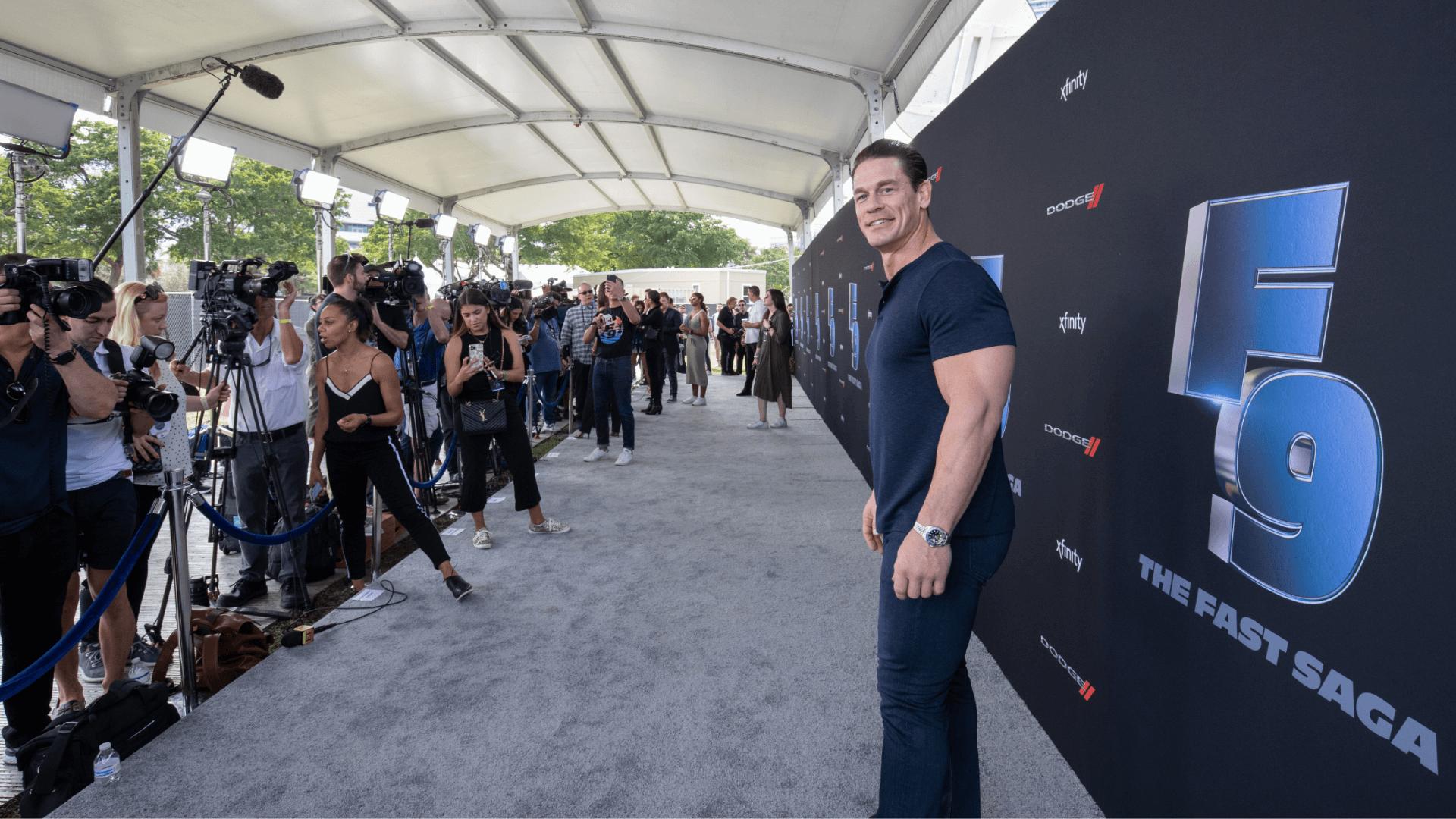 John Cena Road To F9 Miami Event Production JG2 Collective