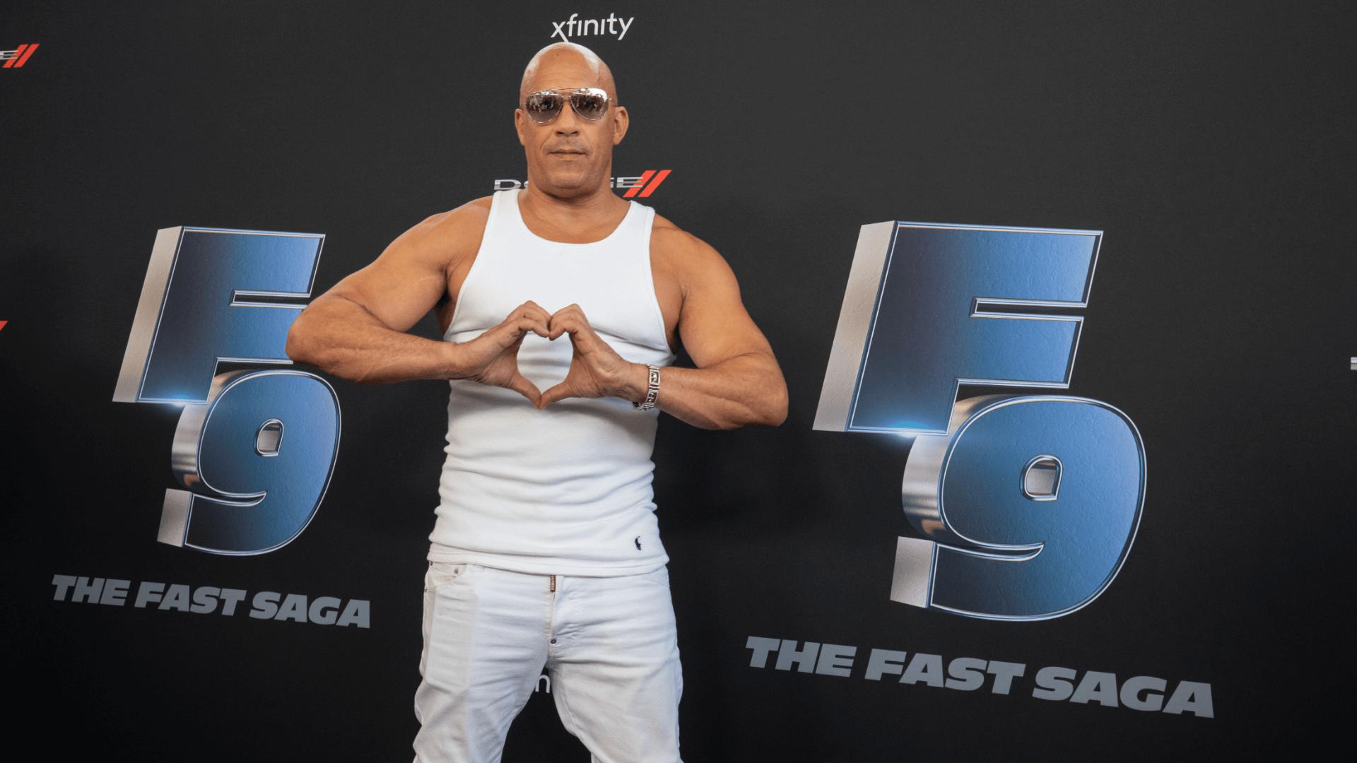 Vin Diesel Road To F9 Concert Miami JG2 Collective