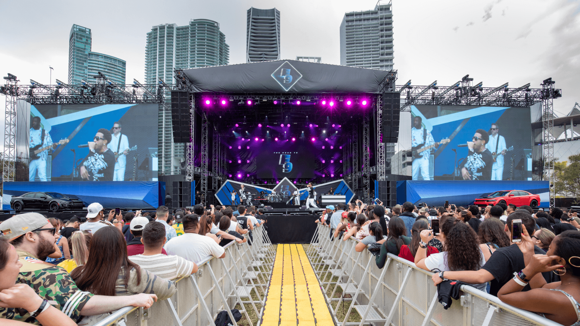 Road To F9 Concert Miami Event Production JG2 Collective