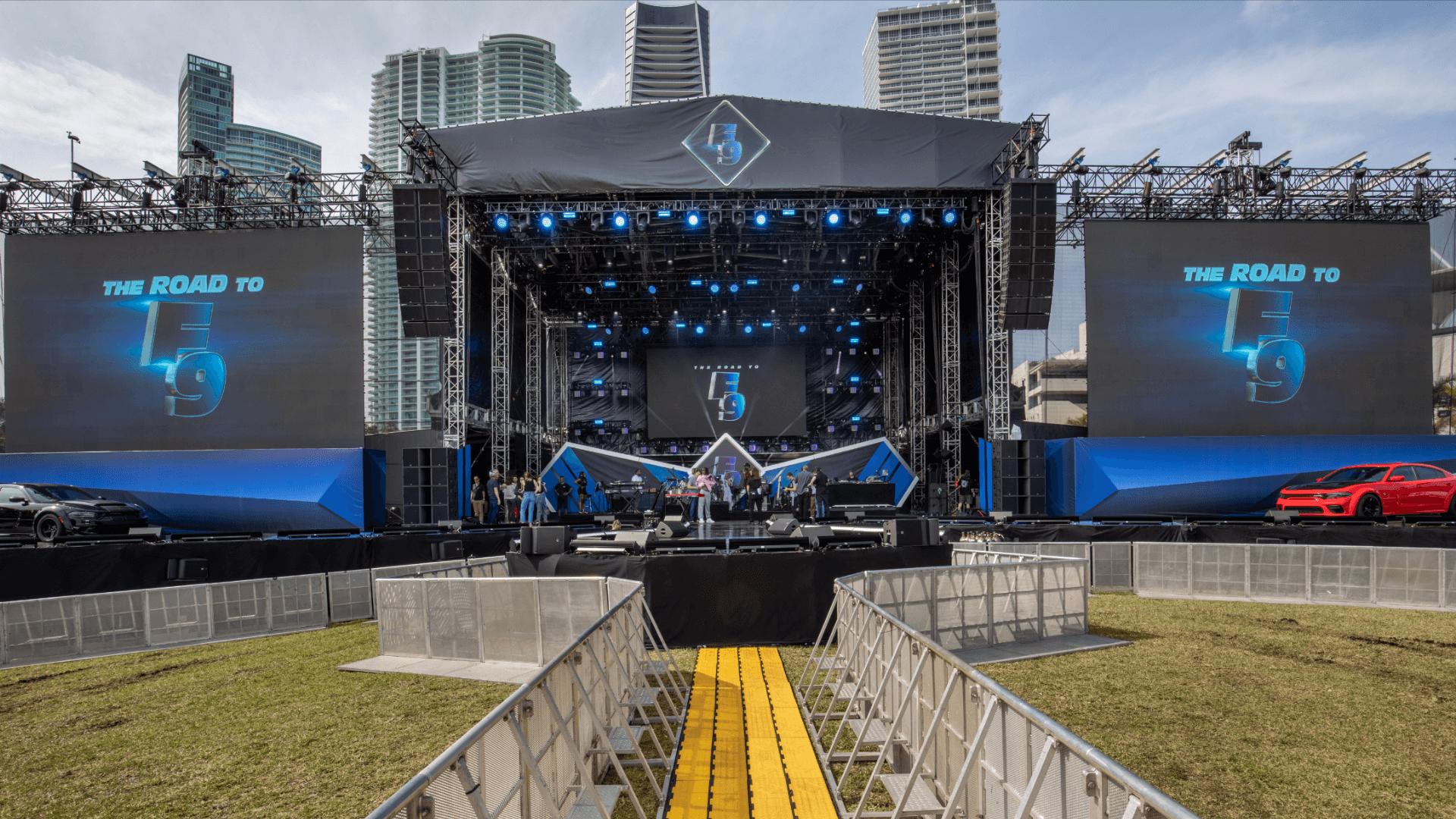 F9 Concert Miami Event Production JG2 Collective